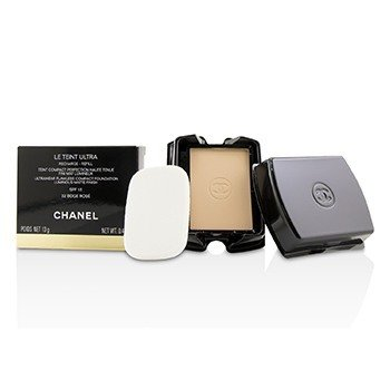 Chanel Le Teint Ultra Ultrawear Flawless Compact Foundation Luminous Matte Finish SPF15 Refill - # 32 Beige Rose