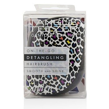 Tangle Teezer Compact Styler On-The-Go Detangling Hair Brush - # Punk Leopard