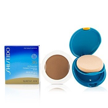 Shiseido UV Protective Compact Foundation SPF 36 (Case + Refill) - # SP60 Medium Beige