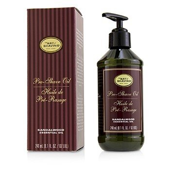 The Art Of Shaving Pre-Shave Oil - Sandalwood Essential Oil (With Pump)