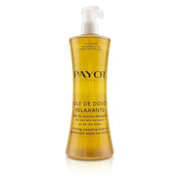 Payot Huile De Douche Relaxante Relaxing Cleansing Body Oil With Jasmine & White Tea Extracts