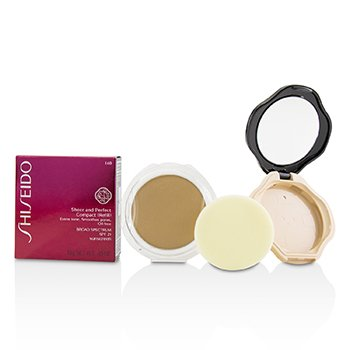 Shiseido Sheer & Perfect Compact Foundation SPF 21 (Case + Refill) - # I40 Natural Fair Ivory