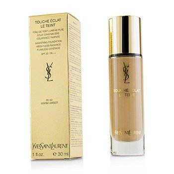 Yves Saint Laurent Touche Eclat Le Teint Awakening Foundation SPF22 - #BD60 Warm Amber