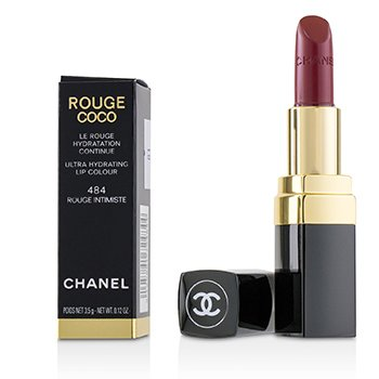 Chanel Rouge Coco Ultra Hydrating Lip Colour - # 484 Rouge Intimiste