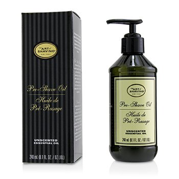 The Art Of Shaving Pre Shave Oil - Unscented (With Pump)
