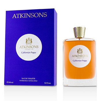 Atkinsons California Poppy Eau De Toilette Spray