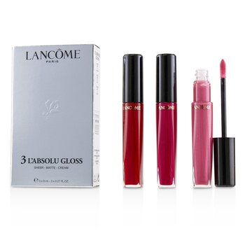 Lancome 3 Labsolu Brillo (#317 Sheer, #378 Matte, #132Cream)