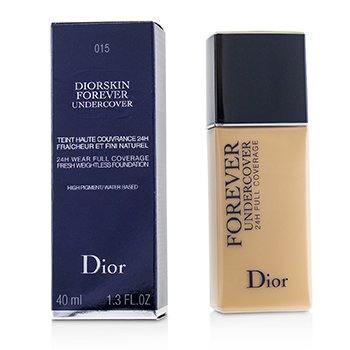 Christian Dior Diorskin Forever Undercover 24H Wear Full Coverage Water Based Foundation - # 015 Tender Beige