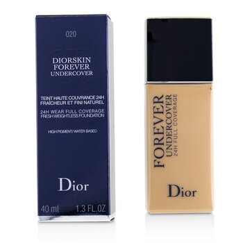 Christian Dior Diorskin Forever Undercover 24H Wear Full Coverage Water Based Foundation - # 020 Light Beige