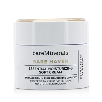 BareMinerals Bare Haven Essential Moisturizing Soft Cream - Normal To Dry Skin Types (Unboxed)