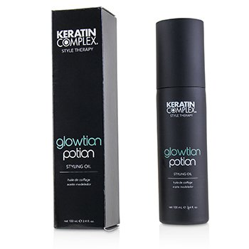 Keratin Complex Style Therapy Glowtion Potion Styling Oil (For Healthy, Soft, Shiny Hair)