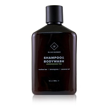 Blind Barber Lemongrass Tea Shampoo & Body Wash