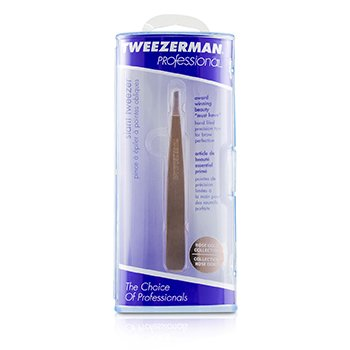 Tweezerman Professional Slant Tweezer - Rose Gold