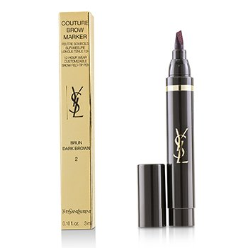 Yves Saint Laurent Couture Brow Marker - # 02 Dark Brown