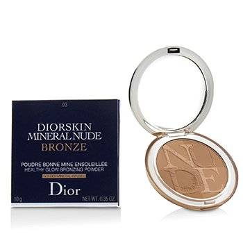 Christian Dior Diorskin Mineral Nude Bronze Polvo Bronceador Brillo Saludable - # 03 Soft Sundown