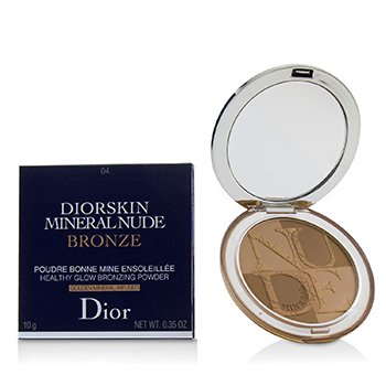 Christian Dior Diorskin Mineral Nude Bronze Polvo Bronceador Brillo Saludable - # 04 Warm Sunrise