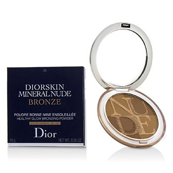 Christian Dior Diorskin Mineral Nude Bronze Polvo Bronceador Brillo Saludable - # 06 Warm Sundown