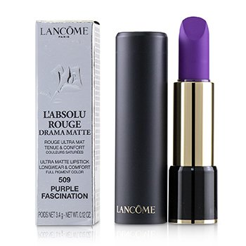 Lancome LAbsolu Rouge Drama Pintalabios Mate - # 509 Purple Fascination