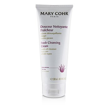 Mary Cohr Fresh Cleansing Cream Wash-Off Cleanser - For All Skin Types