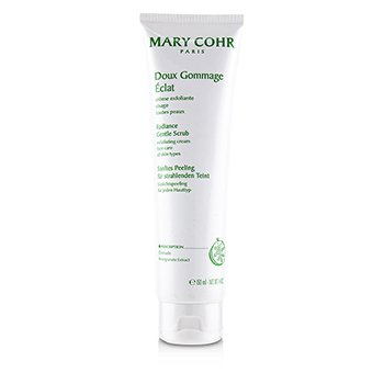 Mary Cohr Radiance Gentle Scrub Exfoliating Cream - For All Skin Types (Salon Size)