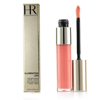 Helena Rubinstein Illumination Lips Nude Glowy Gloss - # 03 Coral Nude