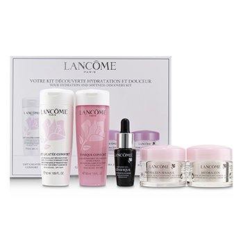 Lancome Kit Your Hydration & Softness Discovery: Confort Galatee + Confort Tónico + Genifique Concentrado + Hydra Zen Crema + Hydra Zen Mascarilla