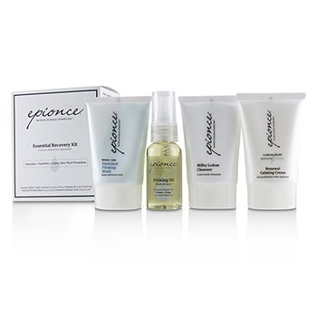 Essential Recovery Kit: Milky Lotion Cleanser 30ml+ Priming Oil 25ml+ Enriched Firming Mask 30g+ Renewal Calming Cream 30g