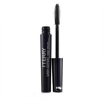 By Terry Lash Expert Twist Brush Double Effect Máscara - # 1 Master Black