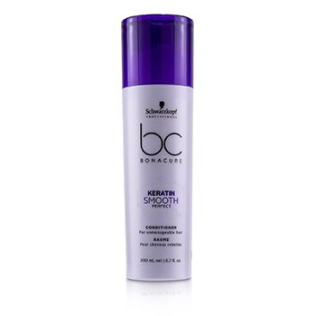 Schwarzkopf BC Bonacure Keratin Smooth Perfect Acondicionador (Para Cabello Inmanejable)