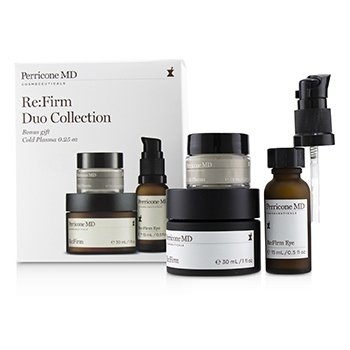 Perricone MD Re:Firm Duo Collection: Re:Firm 30ml + Re:Firm Ojos 15ml + Plasma Frio 7.5ml