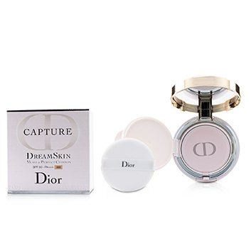 Christian Dior Capture Dreamskin Cojín Hidratación & Perfección SPF 50 With Extra Refill - # 030 (Medium Beige