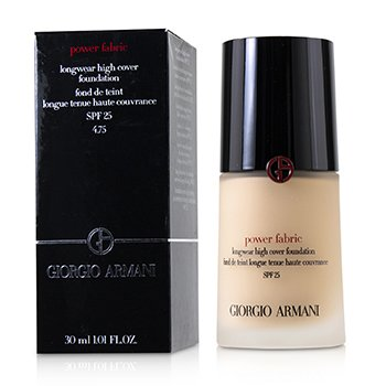 Giorgio Armani Power Fabric Base Cobertura Alta de Larga Duración SPF 25 - # 4.75