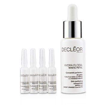 Decleor Hydra Floral White Petal Skin Perfecting Professional Mix (1x Concentrado 30ml, 10x Polvos 4g) - Producto Salón