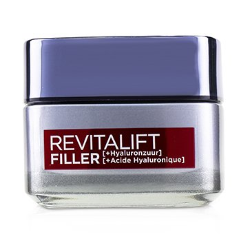 LOreal Revitalift Filler Revolumizing Anti-Aging Day Cream (With Concentrated Hyaluronic Acid)