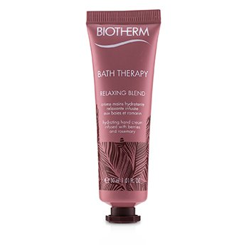 Biotherm Bath Therapy Relaxing Blend Crema de Manos Hidratante