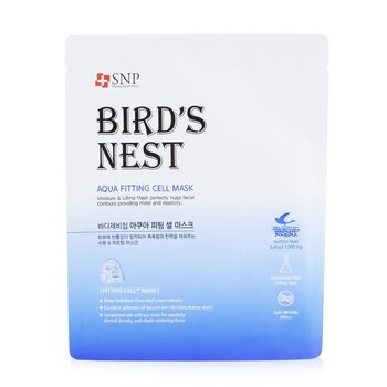 SNP Birds Nest Aqua Fitting Cell Mascarilla