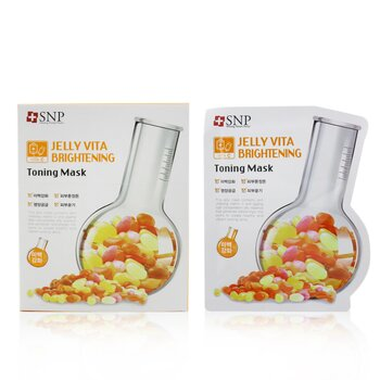 SNP Jelly Vita Brightening Mascarilla Tonificante (Vitamina C)