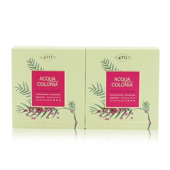 4711 Acqua Colonia Pink Pepper & Grapefruit Aroma Soap Duo