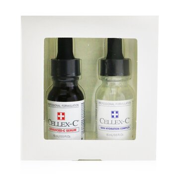 Advanced-C Serum 2 Step Starter Kit: Advanced-C Serum + Skin Hydration Complex (Exp. Date: 12/2021)
