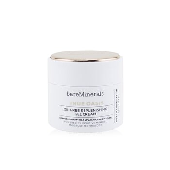 Bare Escentuals True Oasis Oil-Free Replenishing Gel Cream - Oily To Combination Types (Box Slightly Damaged)