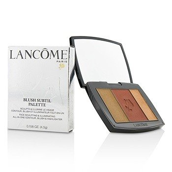 Lancome Blush Subtil Palette (3x Colours Powder Blusher) - # 182 Rum Raisin (US Verison)