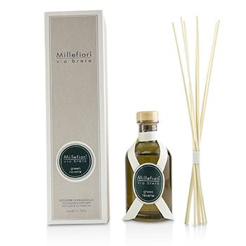 Millefiori Via Brera Fragrance Diffuser - Green Reverie