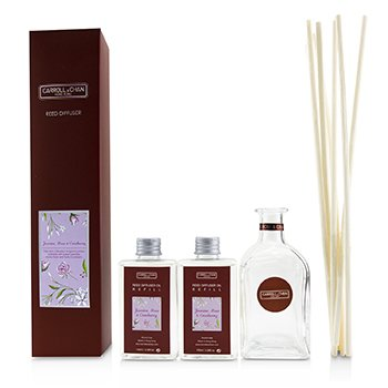 Carroll & Chan (The Candle Company) Reed Diffuser - Jasmine, Rose & Cranberry